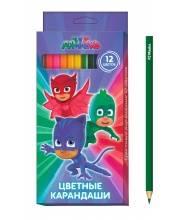 Набор цветных карандашей Герои в масках 12 цветов РОСМЭН