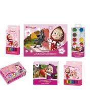 Набор для детского творчества Маша и Медведь 6 предметов РОСМЭН