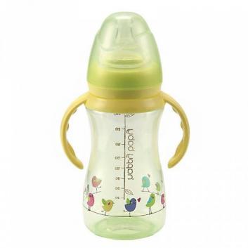 Бутылочка для кормления с ручками, 240 мл.