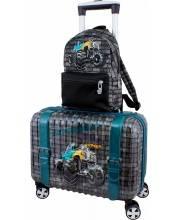 Чемодан с рюкзаком DeLune