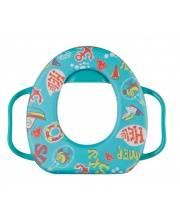 Сиденье на унитаз Накладка на унитаз SAFARY Aquamarine Happy Baby