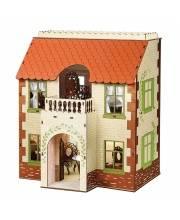 Кукольный домик Одним прекрасным утром деревянный с черепичной крышей ЯиГрушка