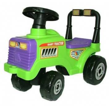 Игрушки, Каталка Трактор Митя Полесье 197599, фото