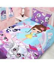 Комплект белья 1,5 спальное Комплект постельного белья LPS City 1,5с MONA LIZA