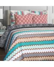 Комплект белья 2-х спальный Wave бязь-люкс MONA LIZA