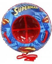 Тюбинг-ватрушка Супермен 100 см 1Toy