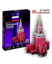 Пазл 3D-пазл Спасская башня 33дет CubicFun