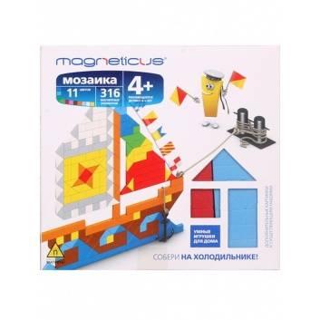 Творчество, Мозаика магнитная Корабли 316 эл Magneticus , фото