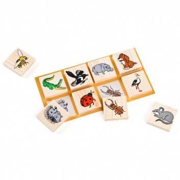 Игрушки, Детское лото Животный мир 48 шт ТОМИК 201356, фото