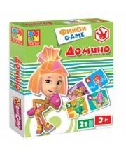 Настольная игра Фиксики Домино Vladi Toys