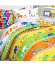 Детское постельное белье 15 спальное Зоопарк MONA LIZA
