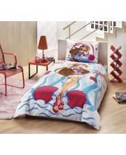 Комплект белья 1,5 спальное RANFORCE WINX FLORA OCEAN TAC