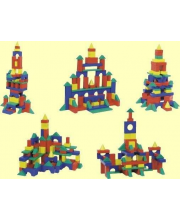 Строительный набор №1 Большой 68 деталей Форма