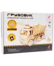 Деревянный конструктор с дистанционным управлением Грузовик D-LEX