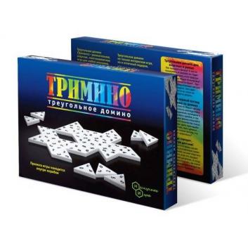 Игрушки, Домино Тримино треугольное Нескучные игры , фото