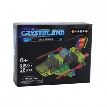 Игрушки, Конструктор Crystaland Космическая яхта 25 деталей N-BRIX 178906, фото