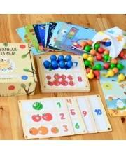 Мозаика деревянная 19 карточек Raduga Kids