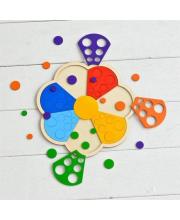 Мозаика-сортер Цветик-семицветик деревянная Raduga Kids