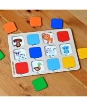 Игра для малышей Кто там? Raduga Kids
