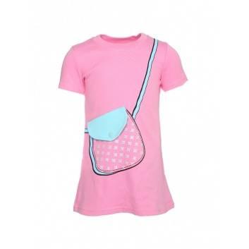 Девочки, Платье Сумочка Ивашка (розовый)225320, фото