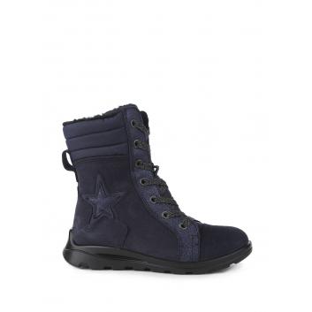 Обувь, Полусапоги ECCO (темносиний)223386, фото
