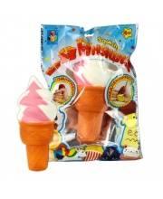 Игрушка-антистресс М-м-мняшка Squishy Мороженое 1Toy