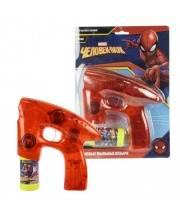 Пистолет для мыльных пузырей Marvel Человек Паук со спецэффектами 1Toy