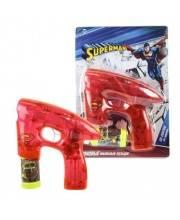 Пистолет для мыльных пузырей Superman со спецэффектами 1Toy
