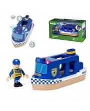 Полицейский катер со спецэффектами BRIO