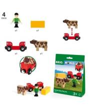 Игровой набор Мальчик на ферме BRIO