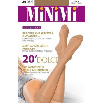 Товары для мам, Гольфы Mini DOLCE 20 DEN Daino 2 пары MINIMI (бежевый)225634, фото