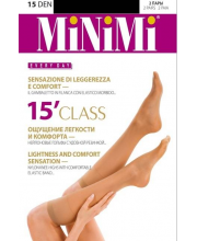 Гольфы Mini CLASS 15 DEN Nero 2 пары MINIMI