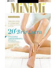 Носки Mini BRIO 20 DEN Lycra Nero 2 пары
