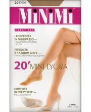 Подследники Mini MINI 20 DEN LYCRA Caramello 2 пары MINIMI