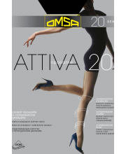 Колготки Oms Attiva 20 DEN Nero OMSA