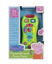 Интерактивная игрушка Обучающий пульт Свинки Пеппы РОСМЭН