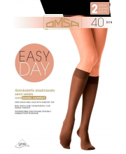 Гольфы Oms Gamb. Easy Day 40 DEN Nero 2 пары