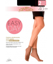 Носки Oms Calzino Easy Day 40 DEN Nero 2 пары