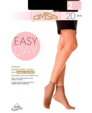 Носки Oms Calzino Easy Day 20 DEN Nero 2 пары