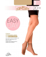 Носки Oms Calzino Easy Day 20 DEN Caramello 2 пары