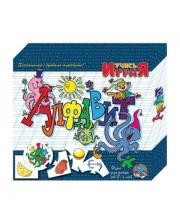 Пазлы дидактические Учись играя Алфавит 10 серий по 5 элементов Десятое королевство