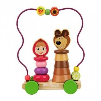 Игрушки, Логика Пирамидки на колесах Затейники 231301, фото
