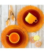 Набор посуды Чайная пара Ириска 6 предметов Росигрушка