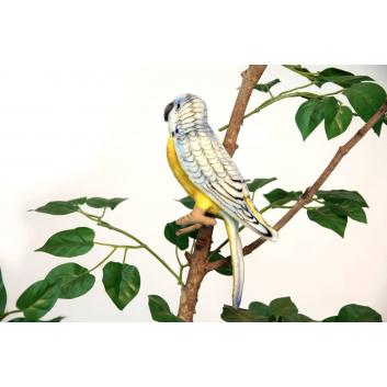 Игрушки, Попугай волнистый 15 см Hansa 226548, фото