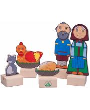 Набор Персонажи сказки Курочка ряба Краснокамская игрушка