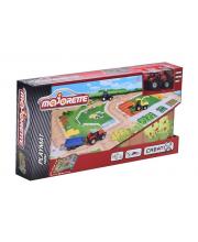 Игровой коврик Creatix Farm + 1 машинка Majorette
