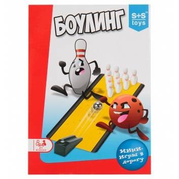 Ликвидация, Игра мини Боулинг S+S Toys 226914, фото