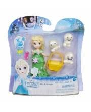 Набор Frozen Маленькая кукла Elsa and Snowgies HASBRO