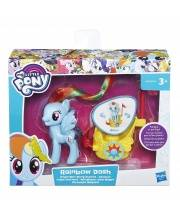 Пони My Little Pony в карете Rainbow Dash HASBRO