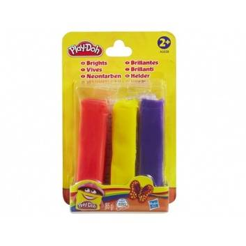 Ликвидация, Пластилин Play Doh Набор из 3 цветов HASBRO 231471, фото